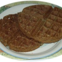 Buckwheat-Rice Yeast-Raised Vegan Waffles