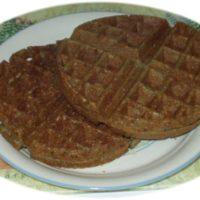 Buckwheat-Rice Yeast-Raised Vegan Waffles