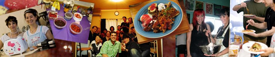 Global Vegan Waffle Party hosts & guests