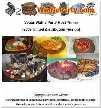 Vegan Waffle Party Host Primer