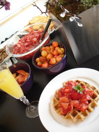 Vegan Waffles from Devious Soybeans Party
