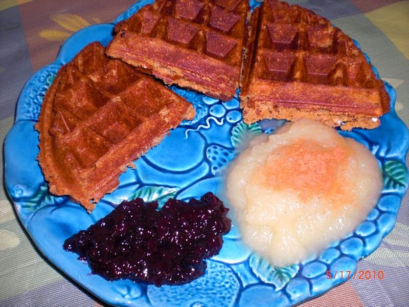 No Excuses Vegan Waffles