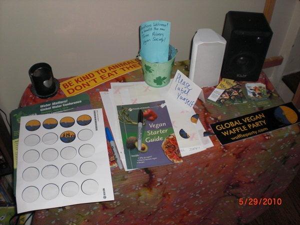 literature table