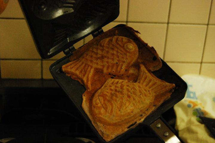 Most ironic #1: vegan fish waffles