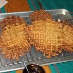 Batch of vegan waffles