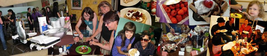 Global Vegan Waffle Party Collage 3b