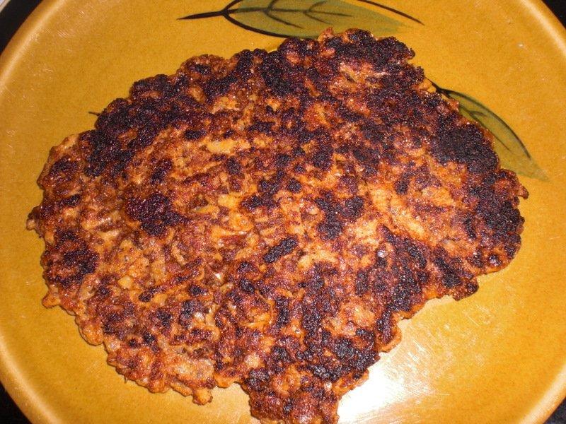vegan Daiya bacon for your vegan waffle