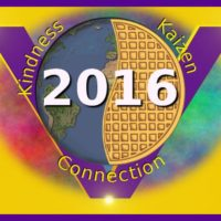 Global Vegan Waffle Party 2016 logo