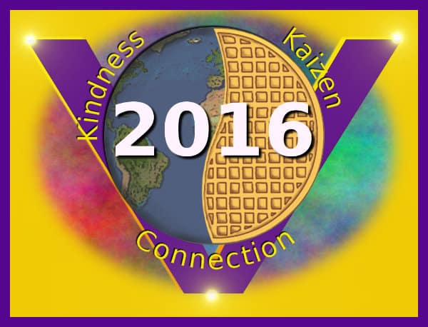 Global Vegan Waffle Party 2016 logo