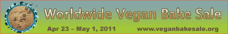 Worldwide Vegan Bake Sale banner