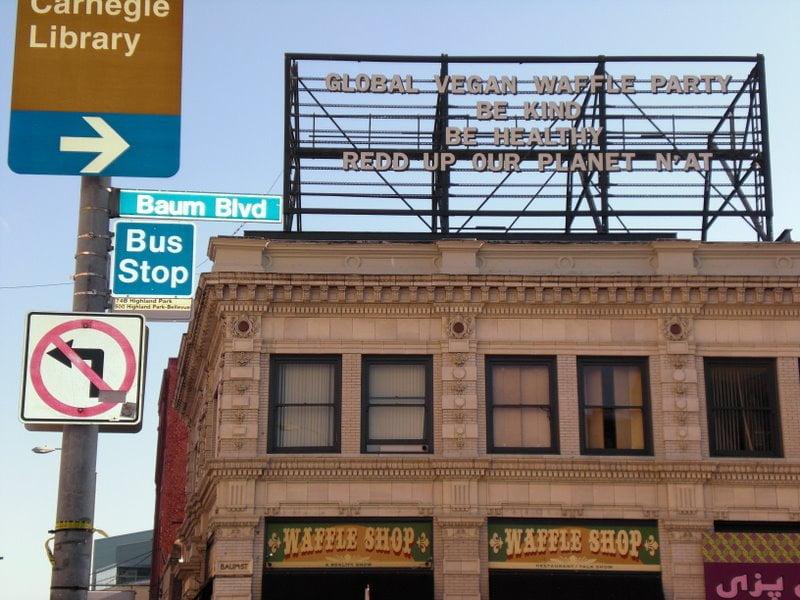 Global Vegan Waffle Party Billboard 2