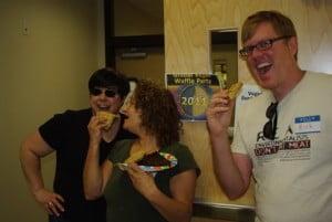 Tulsa, OK 2011 vegan waffle party