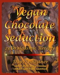 Vegan Chocolate Seduction cookbook front cover