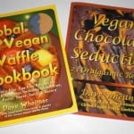 global vegan waffle cookbook and vegan chocolate seduction