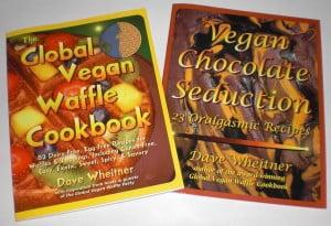 global vegan waffle cookbook and vegan chocolate seduction