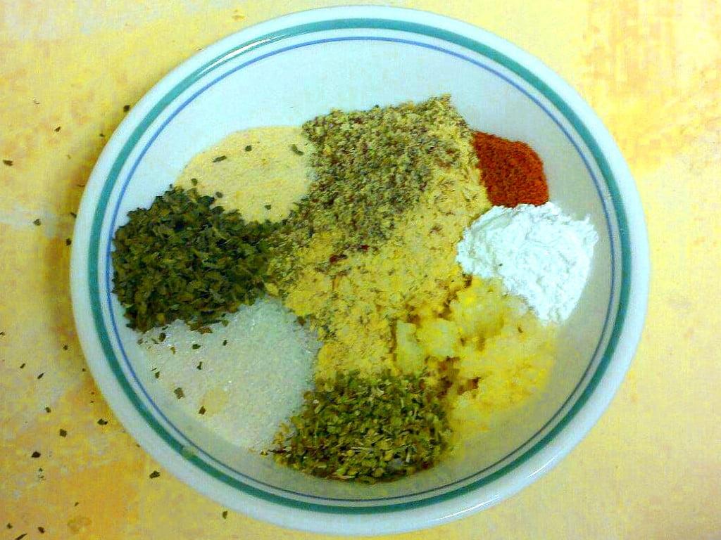 Umami Mama Vegan Waffle spices