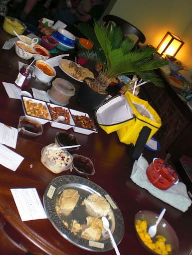 Pittsburgh vegan waffle party 2012