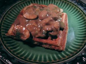Umami Mama Vegan Waffles by Melissa at Food and Loathing