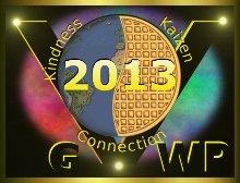 Global Vegan Waffle Party 2013 logo