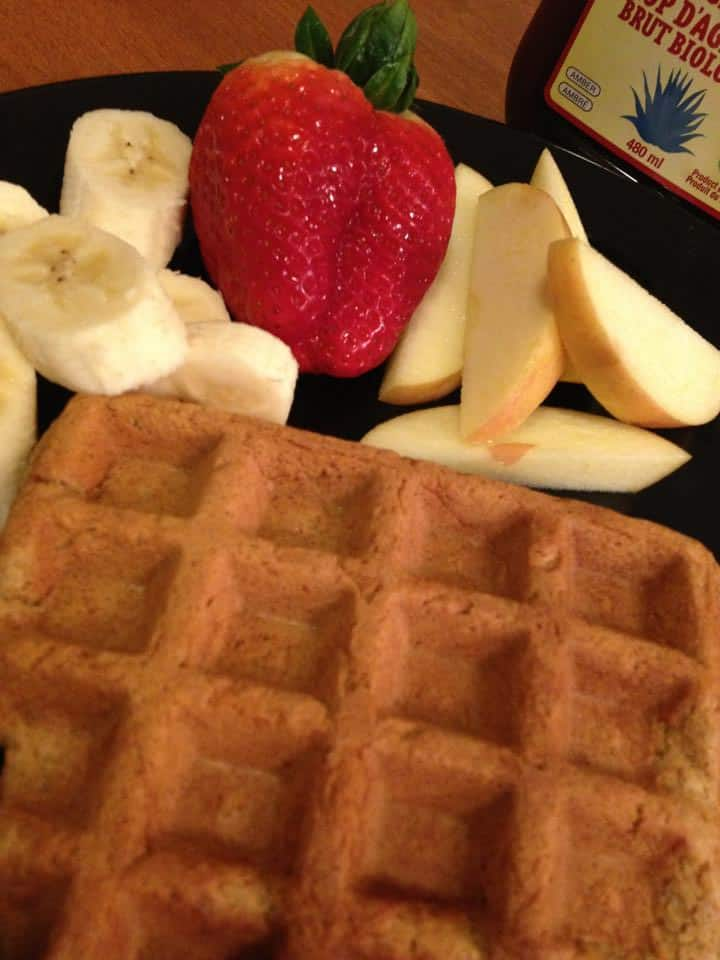 vegan waffles from Guelph, ON, CA, courtesy of Mike R.