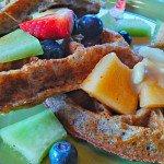 Coconut-Almond Gluten-Free Vegan Waffles