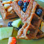 Coconut Almond Gluten-Free Vegan Waffles 2