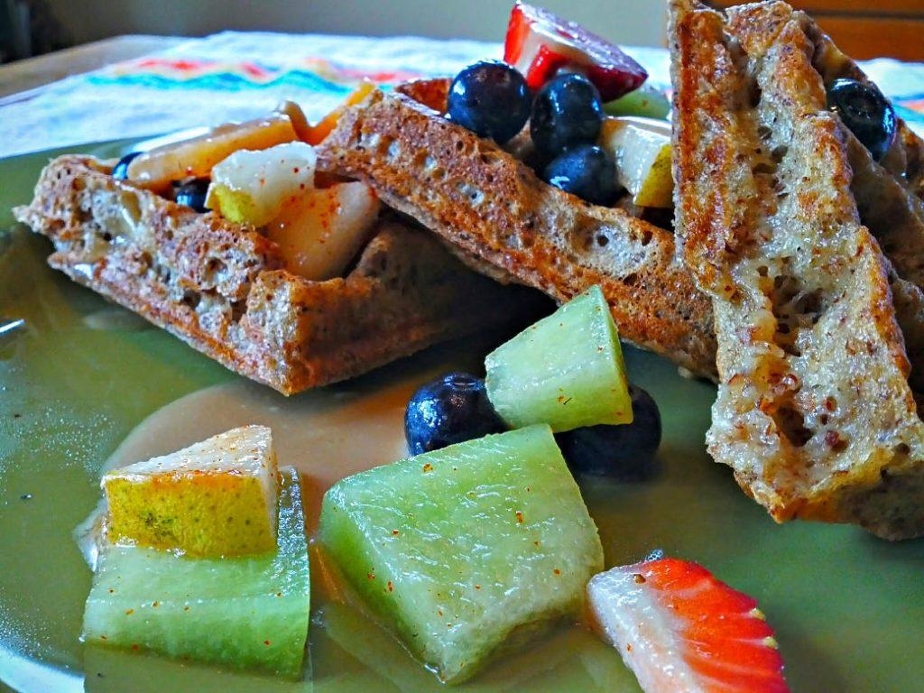Coconut Almond Gluten-Free Vegan Waffles 3