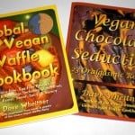 Global Vegan Waffle Cookbook with Vegan Chocolate Seduction