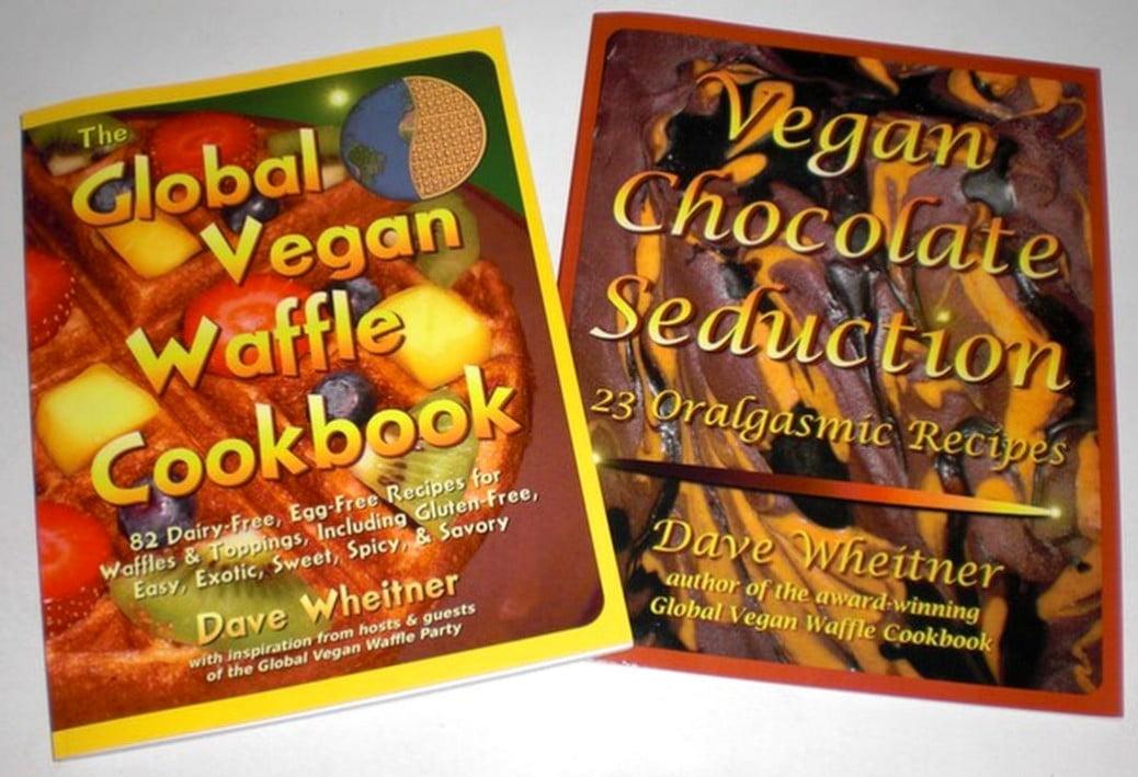 Global Vegan Waffle Cookbook with Vegan Chocolate Seduction