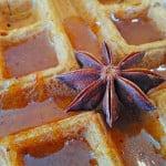 sweet-star-anise-syrup-on-naked-vegan-waffle