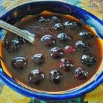 Blueberry Spice Vegan Waffle Syrup