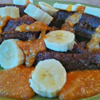 Peanut Butter Ginger Maple Vegan Waffle Sauce