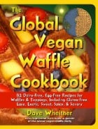 global vegan waffle cookbook cover