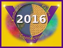 global vegan waffle party 2015 logo