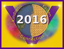 global vegan waffle party 2015 logo