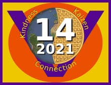 global vegan waffle party 2021 logo